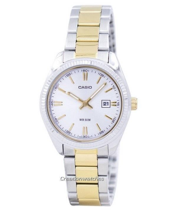 1116d05b0983 Casio Enticer cuarzo analógico LTP-1302SG-7AVDF LTP1302SG-7AVDF reloj para  mujer