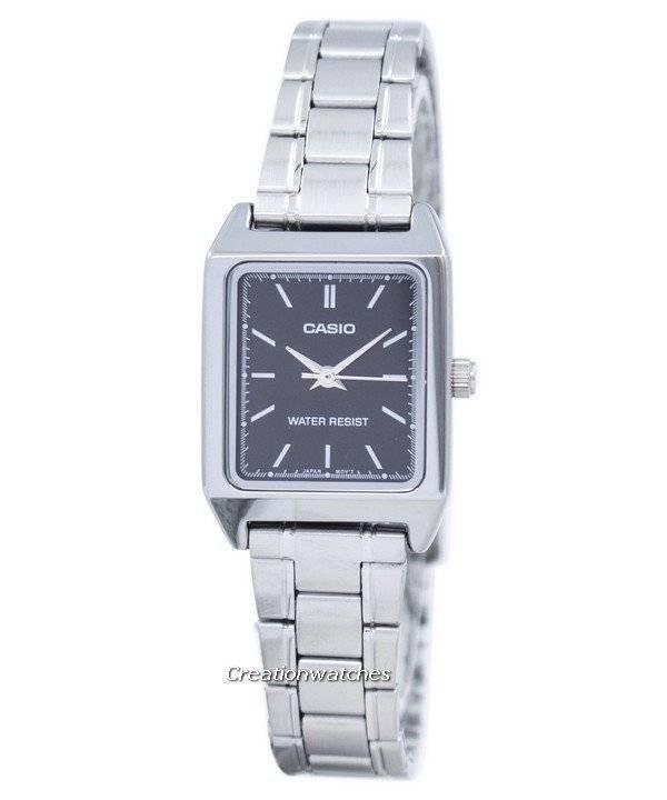 65b141a1e76 Relógio de quartzo analógico Casio LTP-V007D-1EUDF LTPV007D-1EUDF mulher