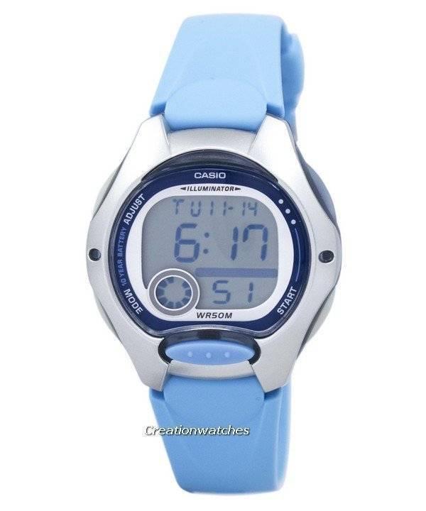 Casio Digital deportes iluminador LW-200-1BVDF Watch de Women es 6cfaa84ab214