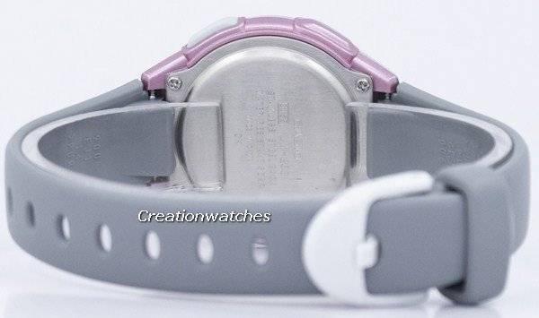 9eab140a224 Relógio Casio iluminador hora Dual alarme Digital LW-203-8AV LW203-8AV  feminino
