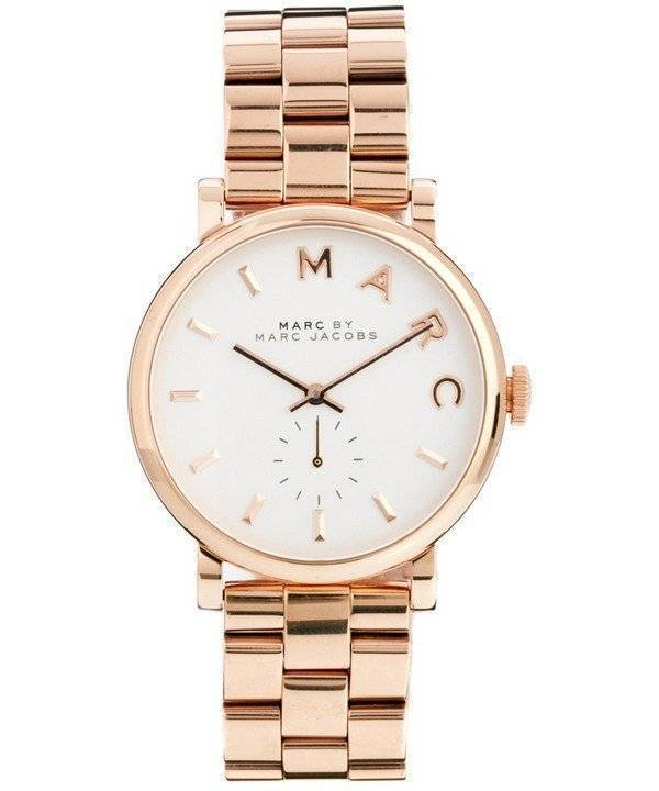 Marc By Marc Jacobs Baker White Dial Mbm3244 Women S Watch