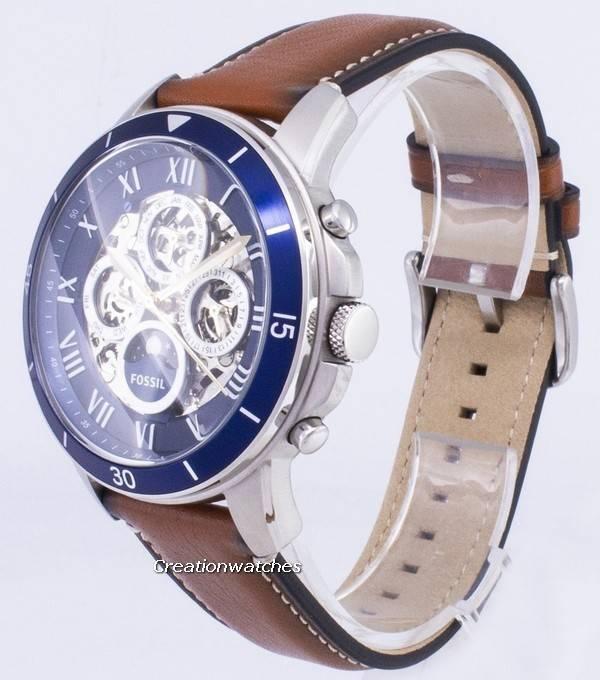 5263233d15d2 Fósiles conceder reloj deportivo sol y Luna ME3140 automática hombres es
