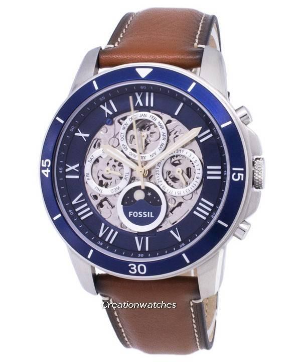 c17c5a6c3300 Fósiles conceder reloj deportivo sol y Luna ME3140 automática hombres es