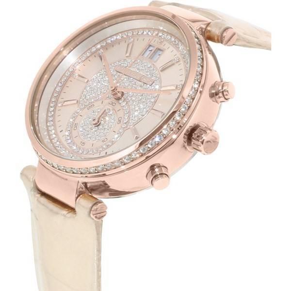 0bb84bf1d680b Michael Kors Sawyer Rose Gold Crystal Pave Dial MK2445 Women s Watch