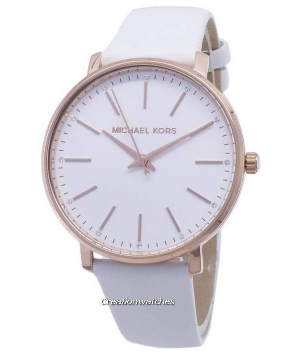 b2eeafeff0d Πορτοκαλί μαύρο ρολόι Michael Kors Pyper MK2800 Diamond