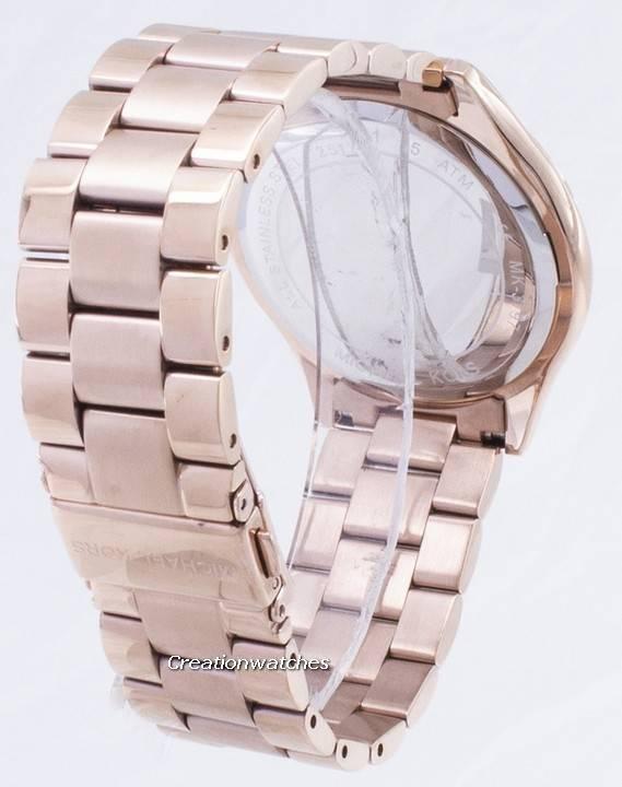 Michael Kors Runway Rose relógio Gold Tone MK3197 feminino pt 85e75b831e