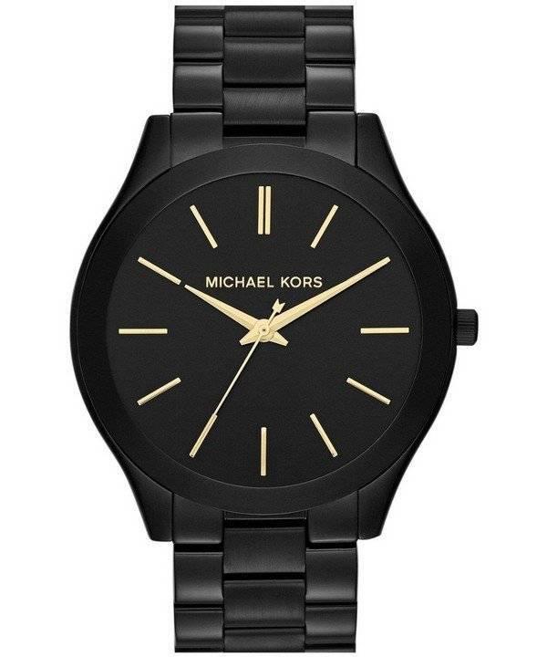Michael Kors λεπτό μαύρο καντράν διάδρομο MK3221 γυναικείο ρολόι el c1ae40fda4b