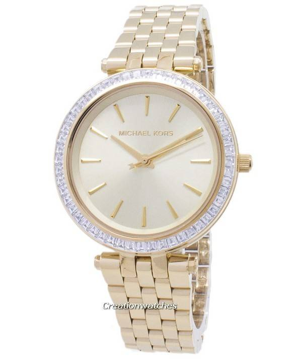 Relógio Michael Kors Darci Mini cristais goldtone MK3365 da mulher pt 6b786c6c10