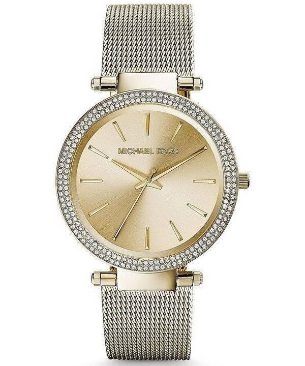 8599a70a389c Reloj Michael Kors Darci oro tono cristales MK3368 de las mujeres es