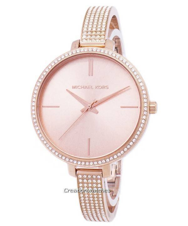 Michael Kors Jaryn Quartz Diamond Accents Mk3785 Women S Watch