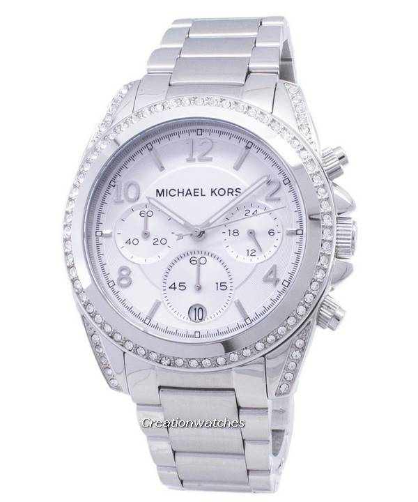 0d08023772f5 Michael Kors Chronograph Crystal MK5165 Women s Watch