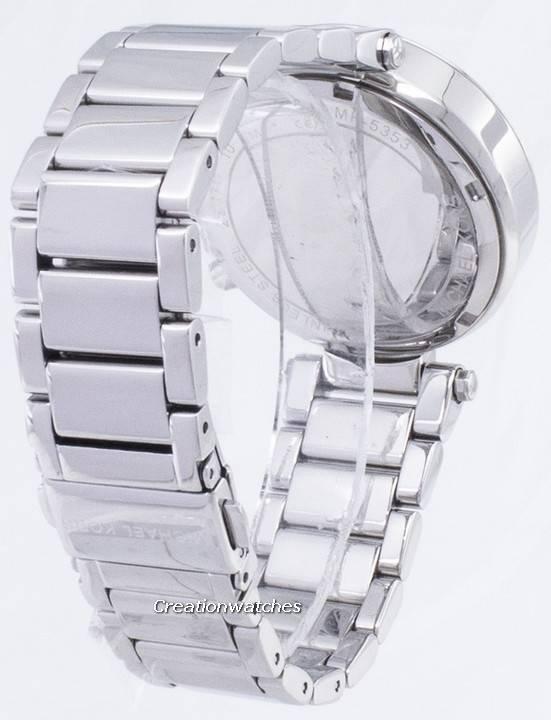 3a4d62538ca5 Michael Kors Parker Crystals Chronograph MK5353 Women s Watch