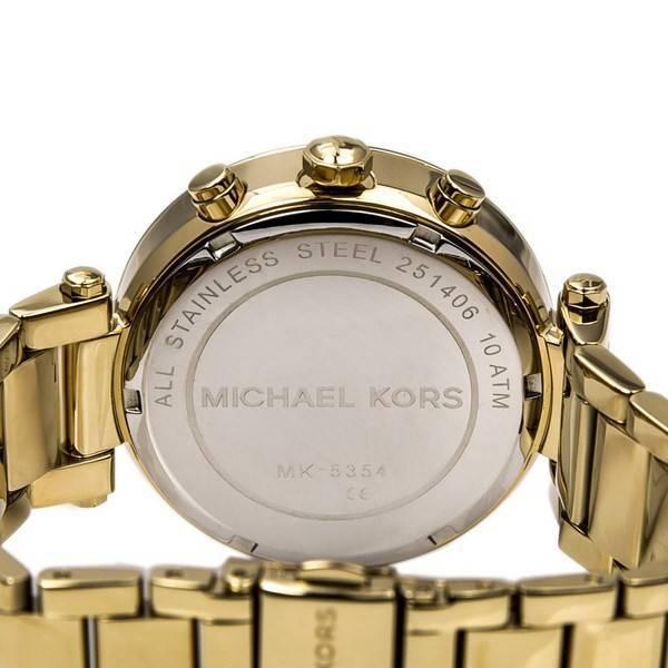 b5b890741ea7 Michael Kors Parker Glitz Chronograph Crystals MK5354 Women s Watch
