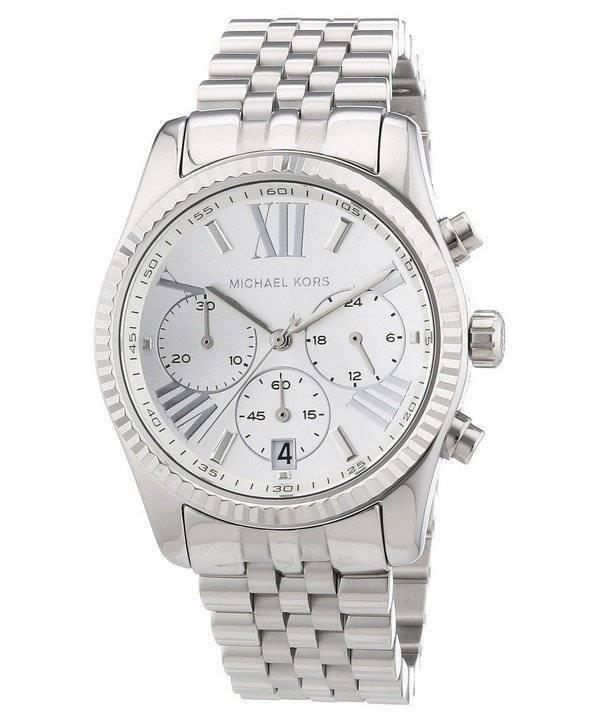 884dbfee244bf Relógio Michael Kors Lexington cronógrafo MK5555 feminino pt