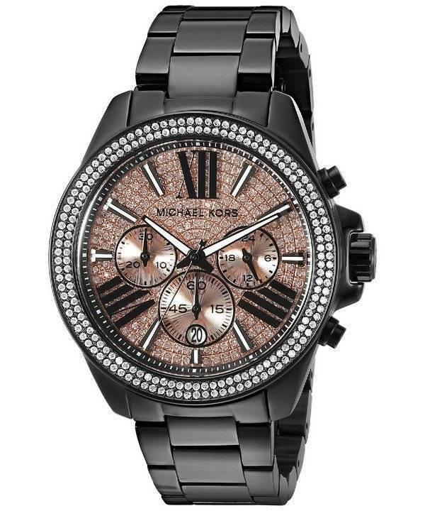 e81072d897 Michael Kors Everest Cronografo rosa orologio quadrante MK5879 donna it