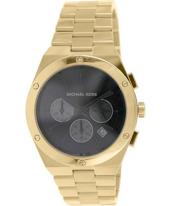 581029abb079 Reloj Michael Kors Reagan cronógrafo negro Dial MK6078 de las mujeres es