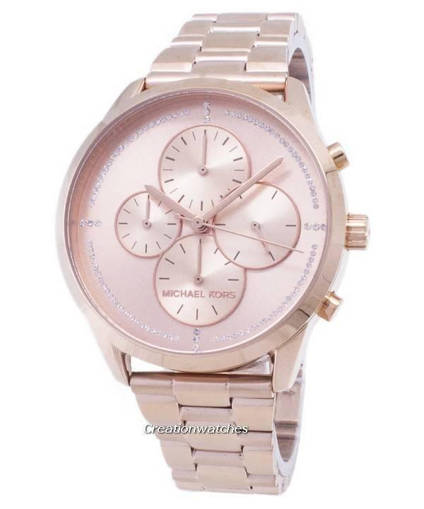 1d0956b057849 Michael Kors Slater Chronograph Quartz MK6521 Women s Watch
