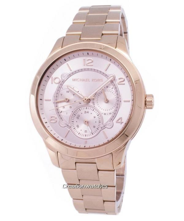 4ab654f28c45 Reloj Michael Kors pista MK6589 de cuarzo de las mujeres es