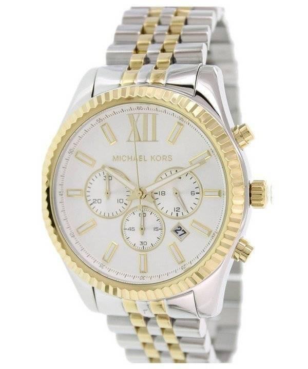 7ee064e5a8e5e Reloj Michael Kors Lexington Cronógrafo MK8344 de los hombres es