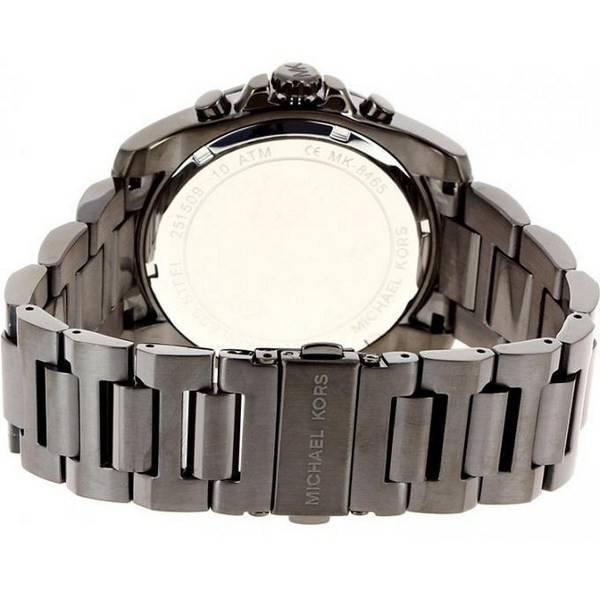 e7001079b395 Michael Kors Brecken Gunmetal Tone Chronograph MK8465 Men s Watch