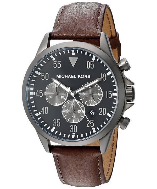 12ef68cec735b Michael Kors Gage relógio de quartzo cronógrafo MK8536 masculino pt