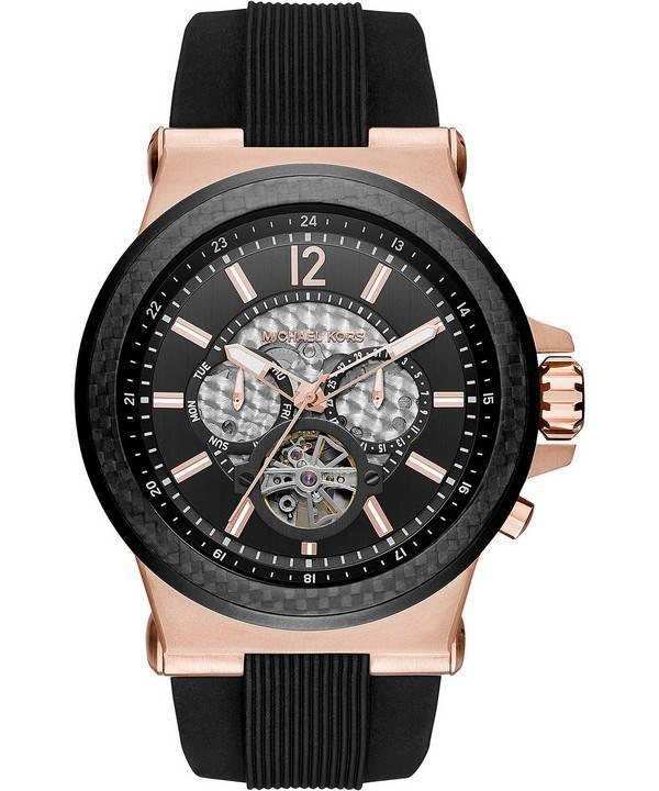 Automático Kors Mujer Reloj Para Dylan Multifunción Mk9019 Michael 0wN8nvm