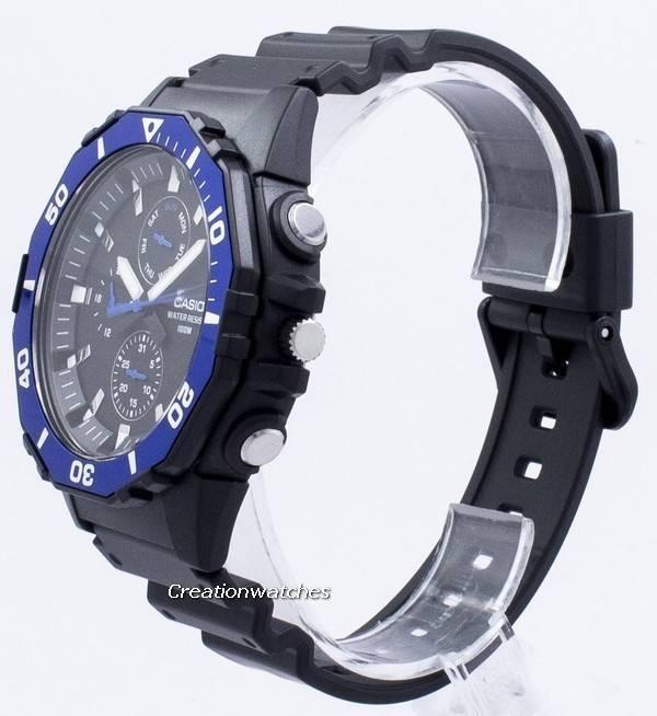 De Analógico Mrw400h Cuarzo 2av Para Diver Reloj Hombre Casio 400h Mrw DWEIH92