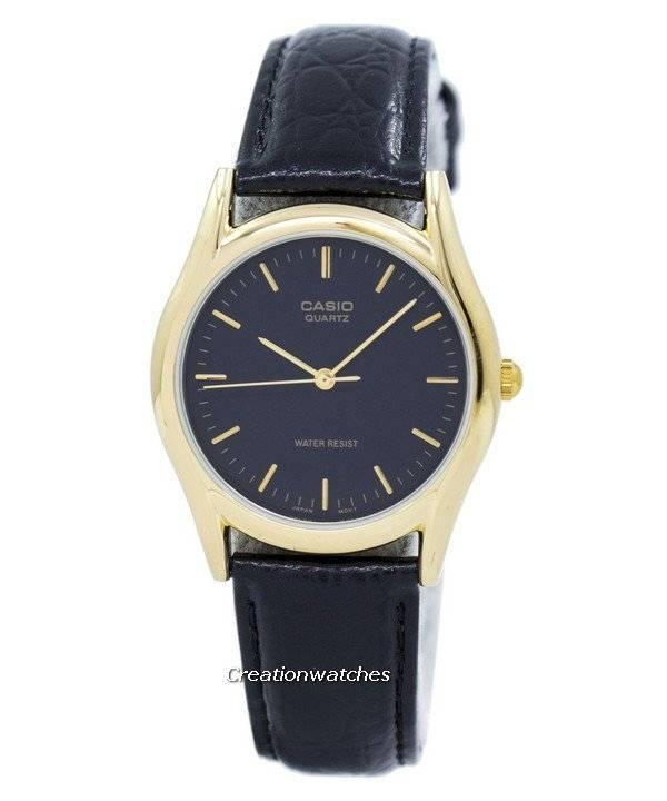 3de1ab105f33 Reloj Casio de cuarzo analógico MTP-1094Q-1A MTP1094Q-1A para hombres