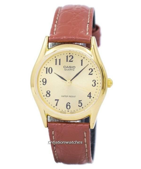 4f9487b8a459 Reloj Casio de cuarzo MTP-1094Q-9B MTP1094Q-9B para hombre