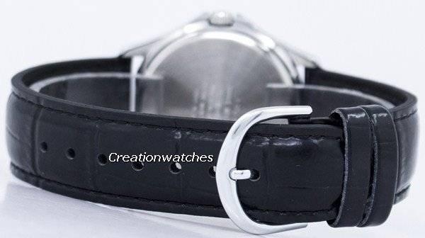 f41b309a9ffc Casio cuarzo analógico esfera blanca de cuero negro MTP-1183E-7ADF  MTP1183E-7ADF