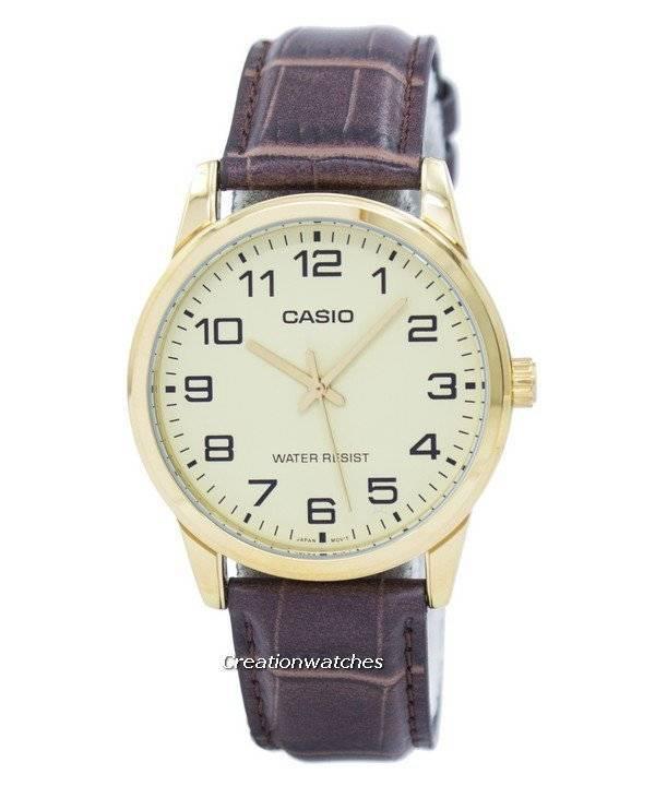 91fcd1fdea4 Relógio Casio aliciador quartzo analógico MTP-V001GL-9BUDF MTPV001GL-9BUDF  masculino