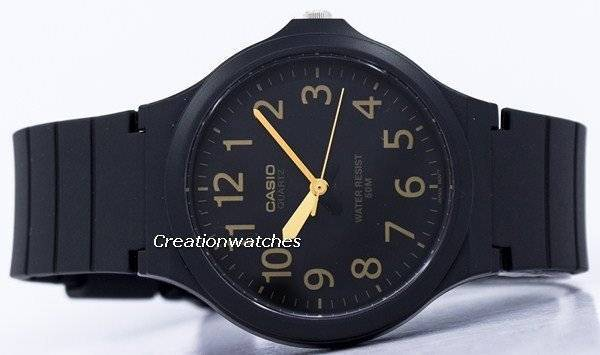 ab380a1bb05 Relógio analógico Casio Quartz MW-240-1B2V masculino pt