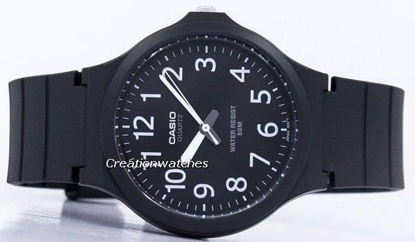 8c948a66afb Relógio analógico Casio Quartz MW-240-1BV masculino pt