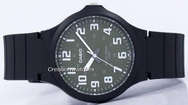 4f654b03643 Relógio Casio Quartz analógico MW-240-3BV masculino pt