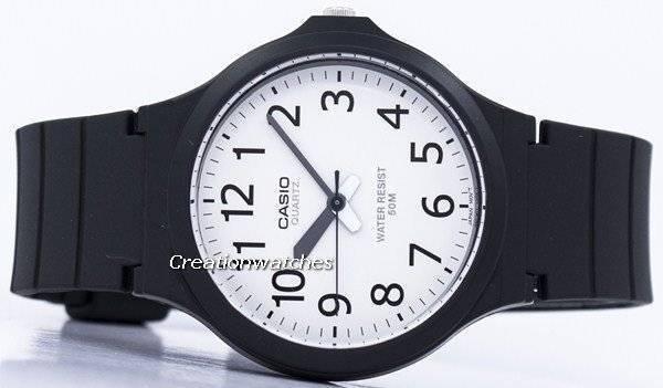 6344558cd52 Relógio analógico Casio Quartz MW-240-7BV masculino pt