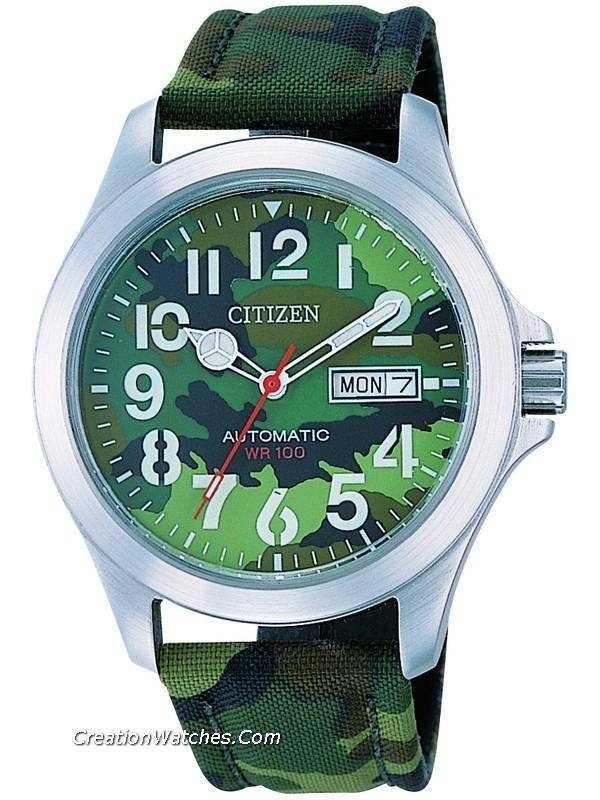 citizen oxy military automatic nh7350 03y