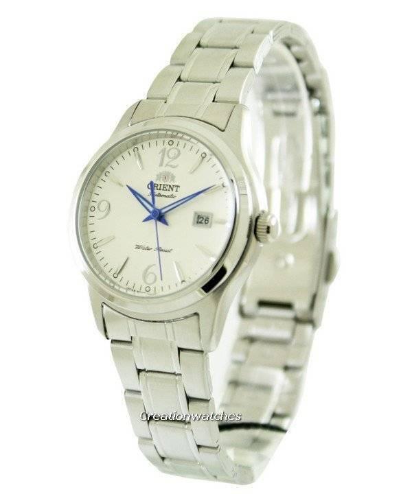 08a38f3ad7a Orientar o relógio automático Charlene White Dial NR1Q005W feminino