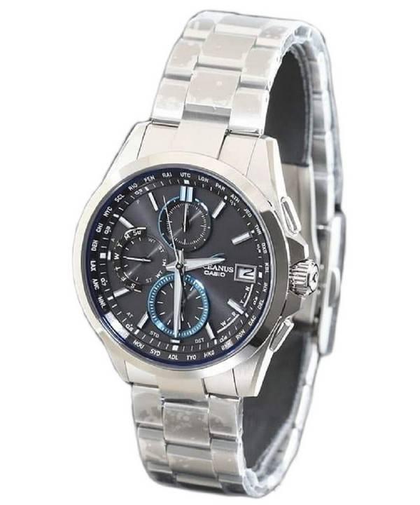 fc237f7e8b0 Relógio Casio Oceanus Manta OCW-T2600-1AJF Wave Ceptor Tough Solar masculino