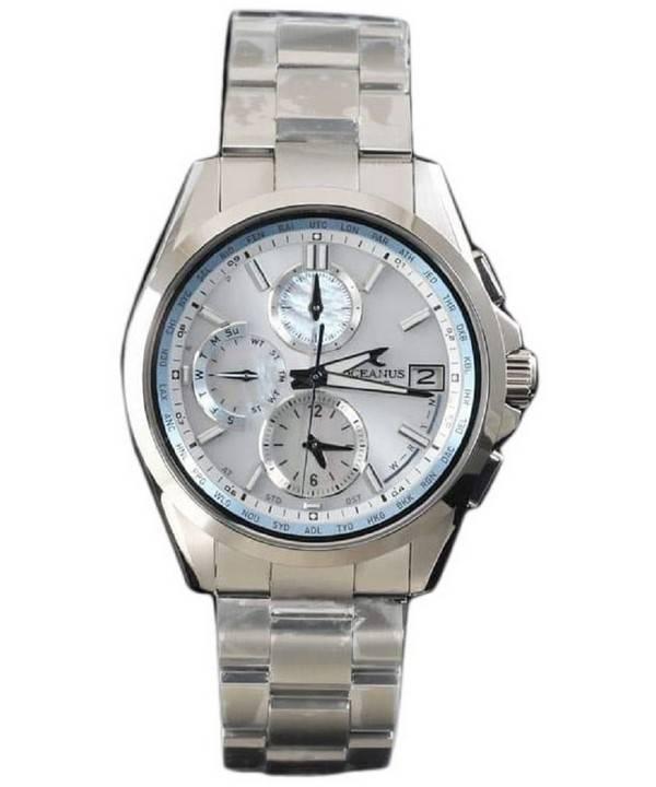 94aac68bbe4 Relógio Casio Oceanus Manta OCW-T2610H-7AJF Wave Ceptor Tough Solar  masculino