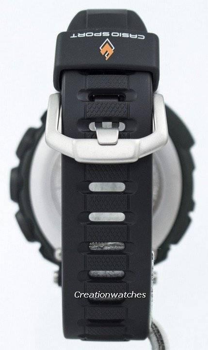 Γράφημα παλίρροια ρολόι του Casio Protrek τριπλή αισθητήρας σκληρή ηλιακή  PRG-130-1V PRG130 41886ce25cf