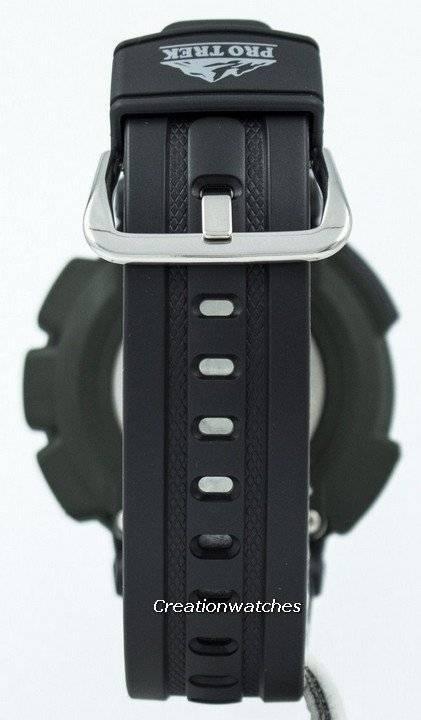 edcf75b3a15 Casio Protrek triplo Sensor PRG-240-relógio 1 DR PRG-240-1 D PRG-240 ...