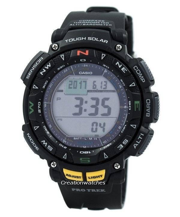 ab11669aa05f Casio Protrek Triple Sensor PRG-240-1DR PRG240-1DR Reloj es