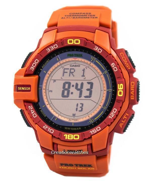 372c5cf5d3d0 Casio Protrek Tough Solar Triple Sensor PRG-270-4A Watch