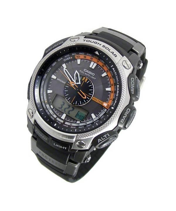 1c5c69349e28 Casio ProTrek Triple Sensor PRG-500-1V PRG-500-1 PRG-500 Reloj para ...