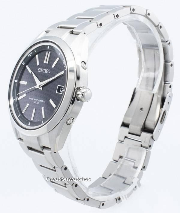 free shipping 7940c 3d773 Seiko Brightz SAGZ08 SAGZ083 SAGZ0 Radio Wave Control Solar Mens Watch