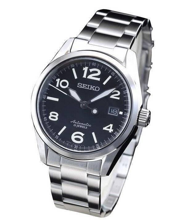 3bf16461ffb7 Reloj Seiko automático 23 joyas SARG009 para hombre