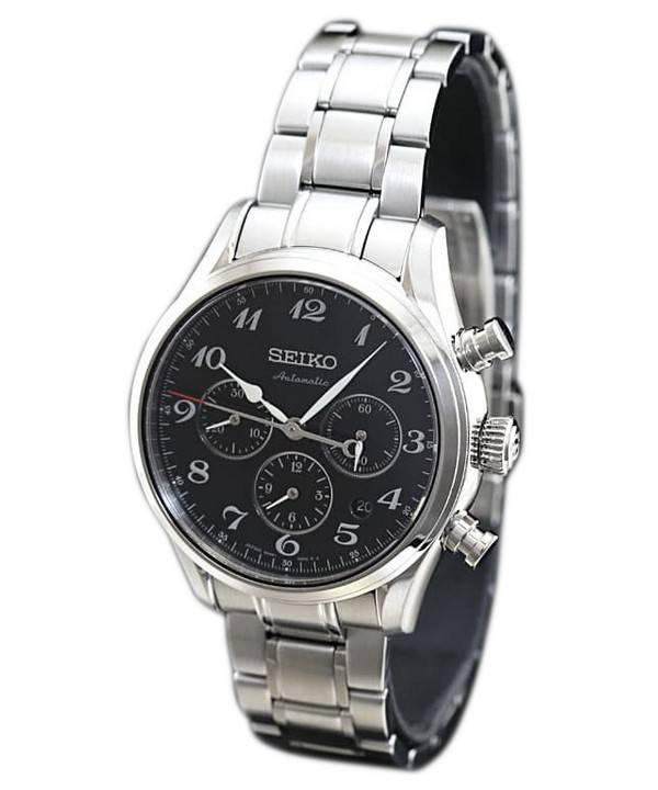 Seiko Presage Automatic Chronograph Japan Made SARK009 Men's Watch - Click Image to Close