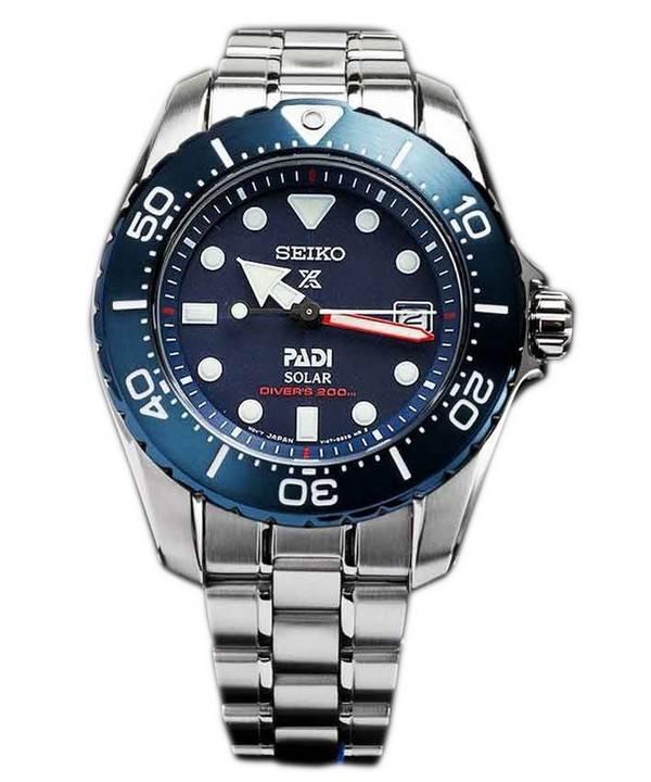 Seiko Prospex PADI Titanium Solar Diver s 200M Limited Edition SBDN035 Women s  Watch ef2b8cb08