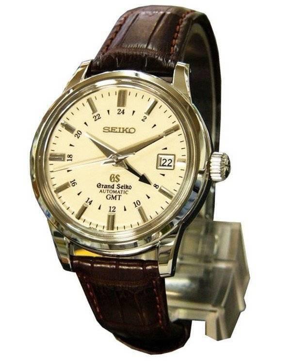 Grand Seiko Automatic SBGM003 Mechanical GMT Japan Made Watch - Click Image to Close