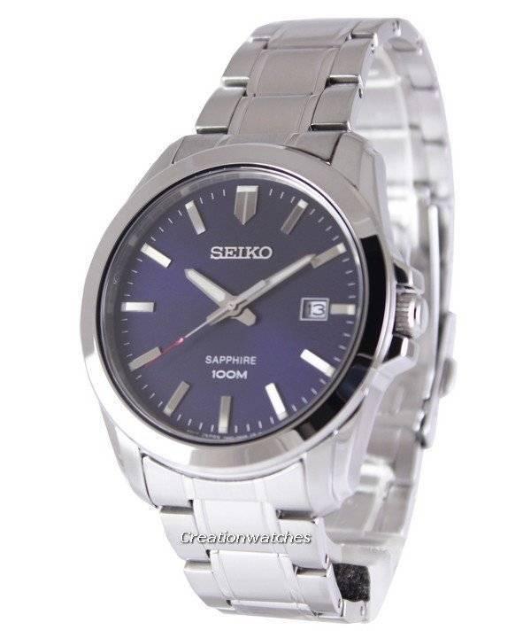 0bfb22fe8b16 Seiko Neo Classic Quartz Sapphire 100M SGEH47 SGEH47P1 SGEH47P Reloj para  hombre